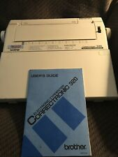 Brother 320 Electronic TYPEWRITER Correctronic in working condition