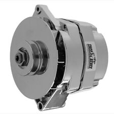 Tuff-Stuff Alternator 7127NDP; 10SI, 12SI 100 Amp Polished Internal for Chevy