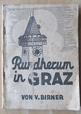 Buch Graz Ämter Behörden 1946 Sehenswürdigkeiten Hotel Pension Straßen Geschäfte