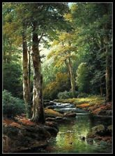 Woods Creek - Chart Counted Cross Stitch Pattern Needlework Xstitch DIY DMC