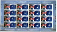 NATO = FLAGS = Full Sheet of 16 stamps  Canada 1999 #1809 MNH VF