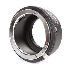 Nikon G F AI AIS Lens to Micro M4/3 Adapter Ring Olympus Panasonic GH4 G7 GF7