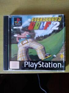 Everybody's Golf 2 (Sony Playstation 1)