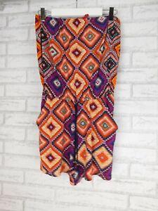 Tigerlily playsuit jumpsuit sz 8, Orange purple