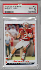 2011 SI FOR KIDS ANDREW LUCK PSA 10 RC RARE ROOKIE GEM MINT POP