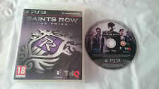 JUEGO SAINTS ROW THE THIRD SONY PLAYSTATION 3 PS3 ESPAÑA. BUEN ESTADO.