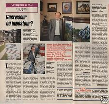 Coupure de presse Clipping 1991 René Thewissen guérisseur imposteur (1 page 1/2)