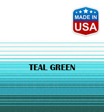 """14' RV Awning Replacement Fabric for A&E, Dometic (13'3"""") Teal Green"""
