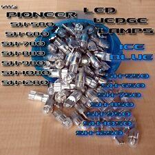 3x ICE BLUE 8v LED WEDGE LAMP SX-880 SX980 SX-750 780 550 650 RECEIVER