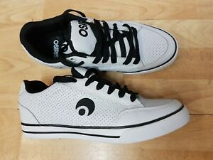 Osiris Shoes Skate Style Black White Size UK 7 USA 8 EUR 40.5 Japan 26