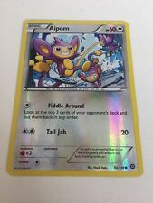 Pokemon Aipom - 90/114 - Common XY Steam Siege Singles Holo