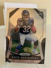 2019 Panini Prizm David Montgomery Rookie RC #327 Chicago Bears