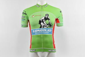 Verge Longsjo Classic Sprint Leader Men's S/S Cycling Jersey Green M Brand New