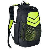 Nike Power Energy Vapor Black Grey Max Air Straps Laptop Backpack Bag BA5246-010