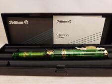 PELIKAN Souverän M800 Limited Edition Green Transparent 18C Nib Fountain Pen