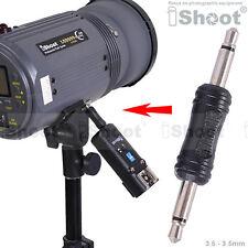 3,5 zu 3,5 mm Adapter Klinke fur Studioblitz&FunkAuslöser Fernsteuerung auslöser