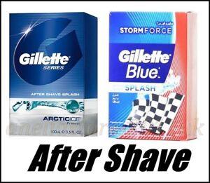 Gillette Blue SPLASH After Shave ARCTICICE Prevents Irritation of the Skin 100ml