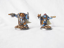 Warhammer 40k Horus Heresy Space Marine Captain & Chaplain-Custom by Pizzazz