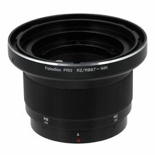 Fotodiox Objektivadapter Pro Mamiya RB67 & RZ67 Linse für Nikon F Kamera