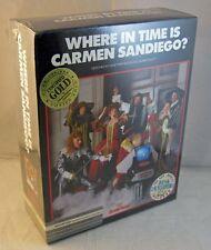 """Where In Time Is Carmen Sandiego?"" MACINTOSH game SEALED BIG BOX Broderbund"
