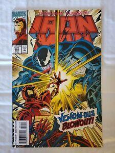 Iron Man #302 (March, 1994 Marvel) versus Venom!
