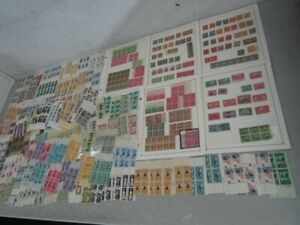 Nystamps E Investment much mint NH US stamp & plate block collection