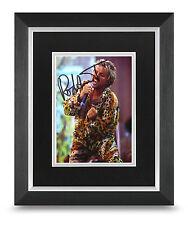 Sir Rod Stewart Signed 10x8 Photo Display Framed Music Memorabilia Autograph COA