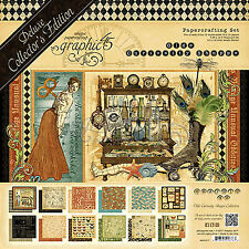 Graphic45 OLDE CURIOSITY SHOPPE DELUXE COLLECTOR'S EDITION scrapbooking
