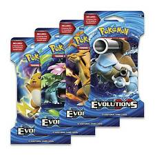 Pokemon XY: Evolutions TCG - Single Booster Pack [Includes 10 Game Cards] NEW