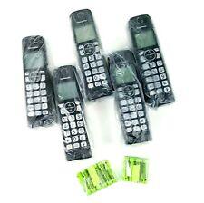 Lot of 5 Panasonic KX-TGFA51 B Replacement Phone Cordless Handset DECT 6.0 NEW