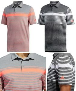 Adidas Golf Ultimate 365 Engineered Heathered Polo Shirt - RRP£60 - ALL SIZES