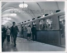 1968 Press Photo Tagansky Subway Station 1960s Moscow Russia
