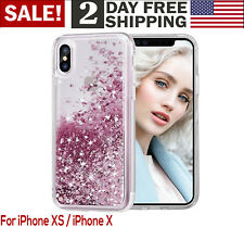 iPhone Ten X Luxury Bling glitter Shockproof Protective Bumper Silicone Case