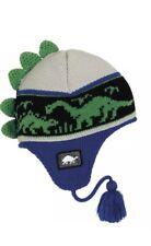 Turtle Fur Kids Dr. Dino Dinosaur Fleece Lined Winter Hat