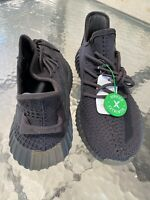 StockX verified authentic adidas Yeezy Boost 350 V2 BLACK Men's SIZE 11US