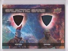2017 Guardians of the Galaxy 2 costume card DUAL DM-13 Yandu Drax