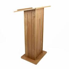 More details for traditional wooden lectern | pulpit | podium | reading platform - uk