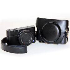 Tasche für Sony Cyber-shot DSC-RX100, RX100 II u. RX100 III LEDER OPTIK NEU