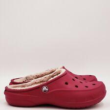 Crocs Women's padded Clogs Size 5 Medium Pink B204