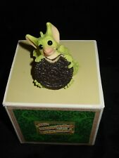 Mint Whimsical World Pocket Dragons Figure My Big Cookie Dragon Signed