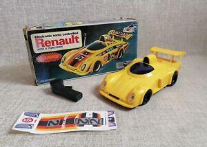 NIB Renault Electronic Car Sonic Controlled Made in Hong Kong Vintage Rare
