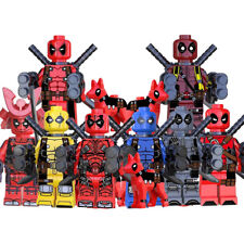 Action Figures Buildnig Blocks Marvel Comic SuperHeroes Deadpool New Small Toys