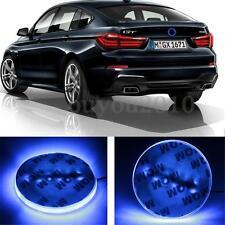 12V 82mm Emblem Blue 12 LED Background Light For BMW 1 3 5 7 Series X3 X5 X6