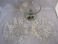 6 piezas conjunto de vidrio Cuencos De Postre Platos De Helado Sundae Frutas bagatela Punch Regalo un