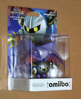 Amiibo Super Smash Bros Series Figure Nintendo Wii U No  51 Mewtwo