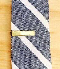 Brass Short Angled Tie Clip