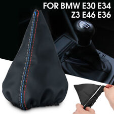 Shifter Shift Knob Gear Gaiter Boot Cover FOR BMW E30 E34 Z3 E46 E36 PU Leather