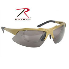 10537 Rothco Coyote Brown Sport Safety Tactical Eyewear Kit