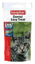 Beaphar Cat Kitten Teeth Fresh Breath Dental Easy Treats Snack 35g
