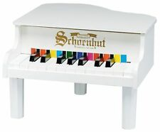 NEW Schoenhut 18 Key Mini Grand Piano - WHITE - Free Fast Shipping